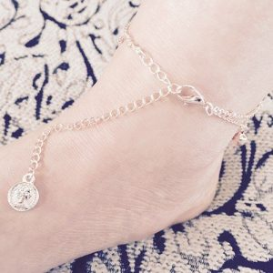 Gold Plated Small Bell Anklet