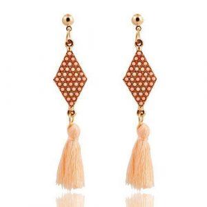 Trendy Bohemia Geometric Acrylic Stud Earrings