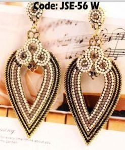 Rhinestone Crystal Waterdrop Earrings