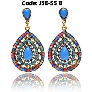 Rhinestone Crystal Waterdrop Earrings