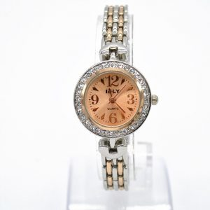 Casual Diamond Canvas Luxury Wristwatch For Women