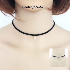 Simple Choker with Pendant