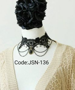 Gothic jewelry vintage lace necklaces