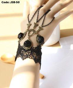 Gothic Lace Vintage Bracelet Ring