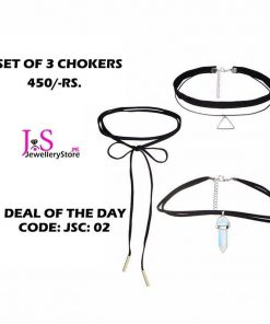 3 Chokers Set In Cheap Price