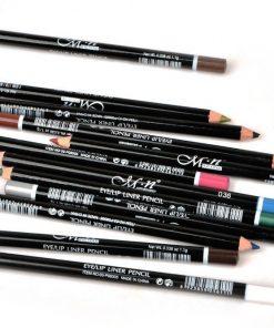 12 Colors Eyeliner Pencil Waterproof