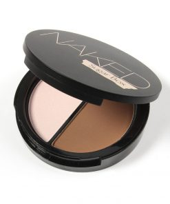 Professional Face Makeup Two-Color Bronzer And Highlighter Powder