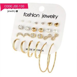 12 Earrings Pairs in One Set