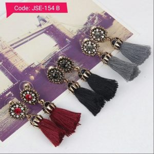 Tassel Earring in multi colors