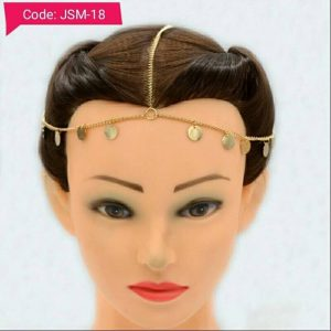 Wedding Bridal Goddess Head Chain - Matha Patti