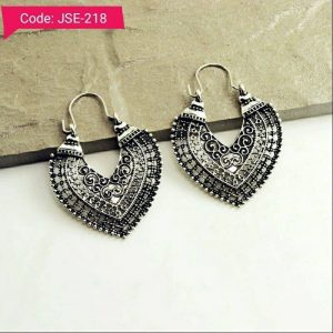 Vintage Trend Antique Silver Earrings