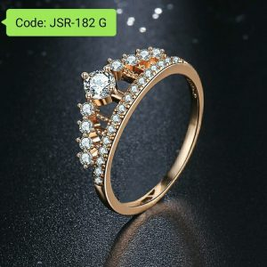 Cubic Zirconia Finger Princess Queen Rings
