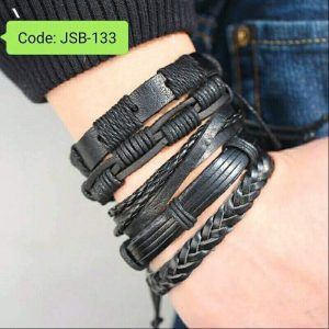 Multiple Layers Punk Leather Bracelets