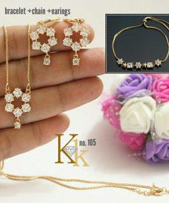 Daily Wear Earrings Gold Designs KK-30
