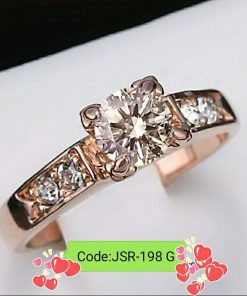 Heart Shape Copper High Quality Ring