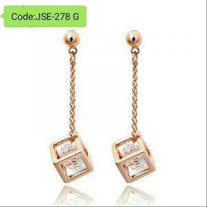 AAA+ CZ Crystal Imitation Pearl Drop Earrings