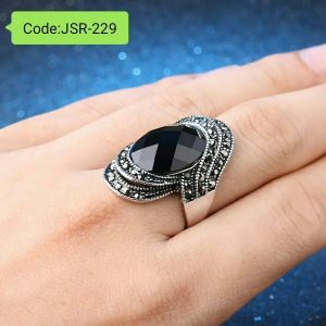 Vintage Black Rings For Men